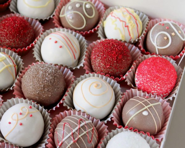 Cake Balls or Bites for the holidays!