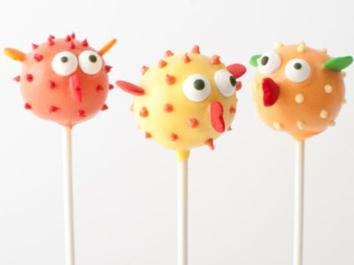 Underwater Theme Birthday Party with Blowfish cake pops